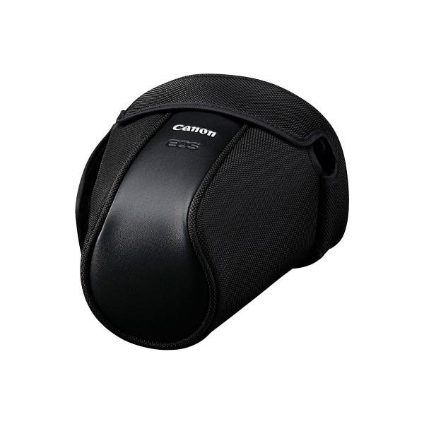 Canon eh27-l negro funda semirrígida fabricada en polipiel para cámara digital reflex canon eos
