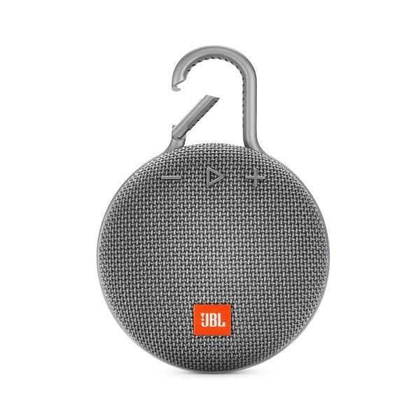 Jbl clip 3 gris altavoz portátil 3w rms bluetooth mosquetón integrado impermeable ipx7