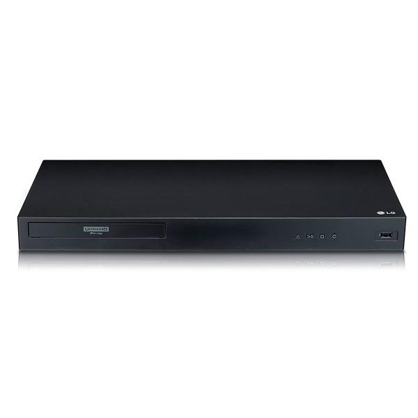 Lg ubk80 reproductor blu-ray ultra hd 4k hdr con conectividad lan hdmi usb audio digital