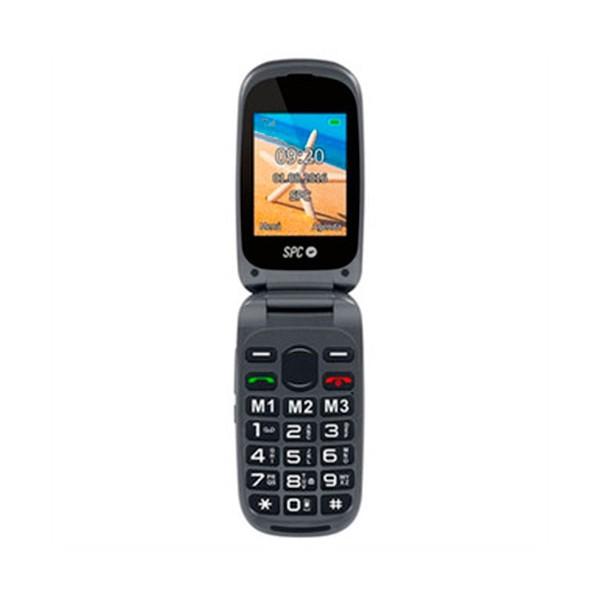Spc 2304n harmony negro móvil con tapa / dual sim / sos