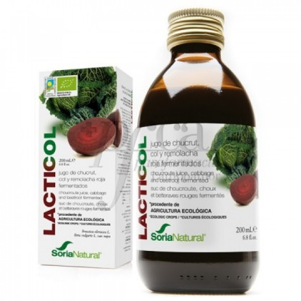 LACTICOL ECOLOGICO SORIA NATURAL 200 ML 06025