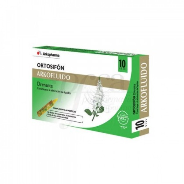 ORTOSIFON ARKOFLUIDO AMPOLLA BEBIBLE 15 ML 20 AM