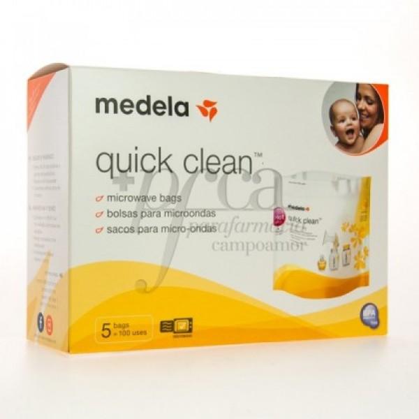 MEDELA QUICK CLEAN BOLSAS MICROONDAS 5U