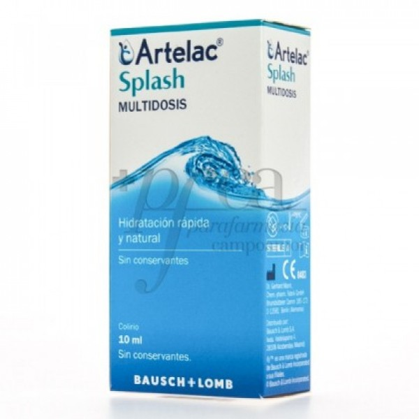 ARTELAC SPLASH ESTERIL MULTIDOSIS 10 ML