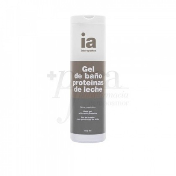 INTERAPOTHEK GEL BAÑO PROTEINA LECHE 750 ML