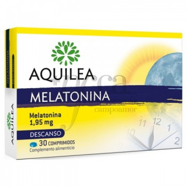 AQUILEA MELATONINA 1,95MG 30 COMPS