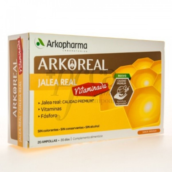 ARKOREAL JALEA REAL VITAMINADA 20 AMP S/ NARANJA