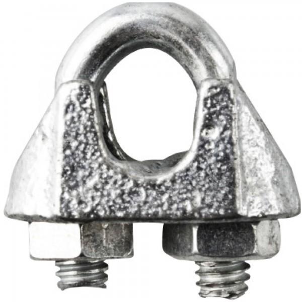 Sujetacables tipo aleman  m- 6 1/4 inox.