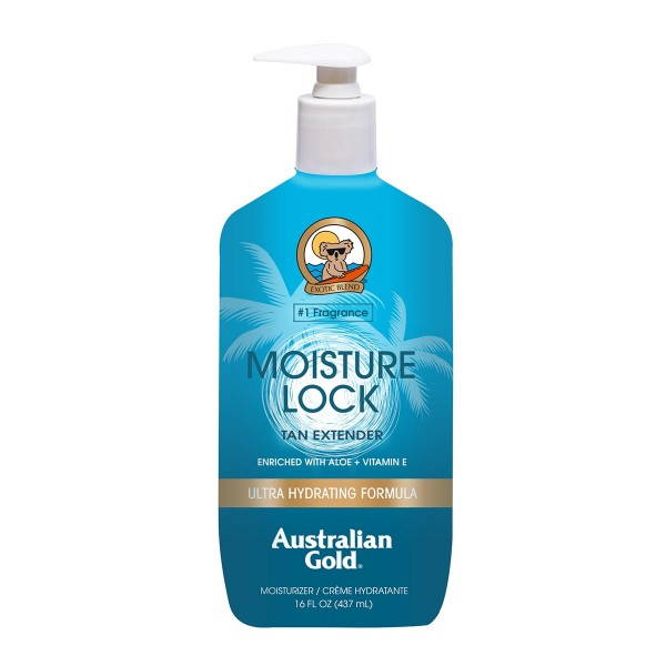Australian gold moisture lock tan extender moisturizer 473ml