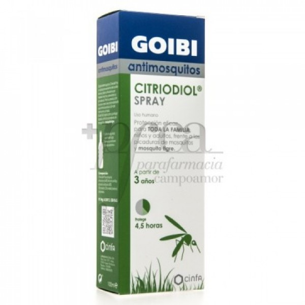 GOIBI ANTIMOSQUITOS NATURE SPRAY 2A+ 100ML
