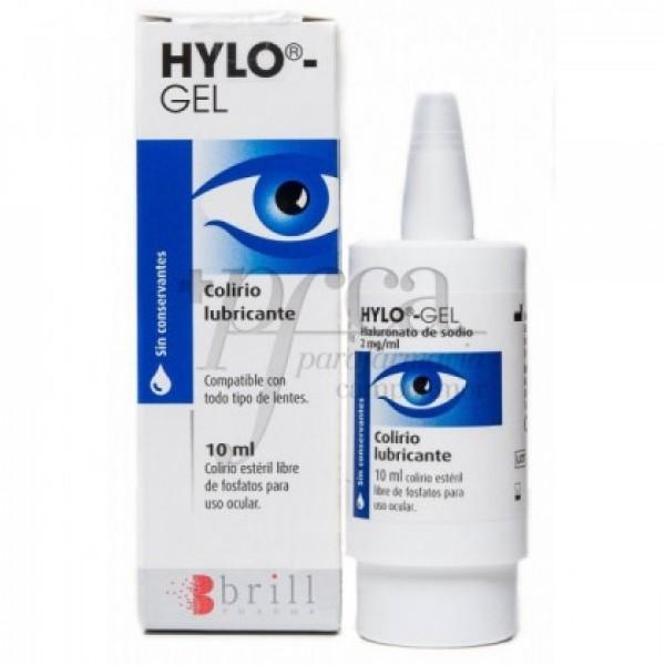 HYLO-GEL COLIRIO LUBRICANTE 10 ML