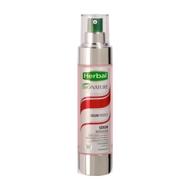 Herbal bionature color protect serum reparador 100ml