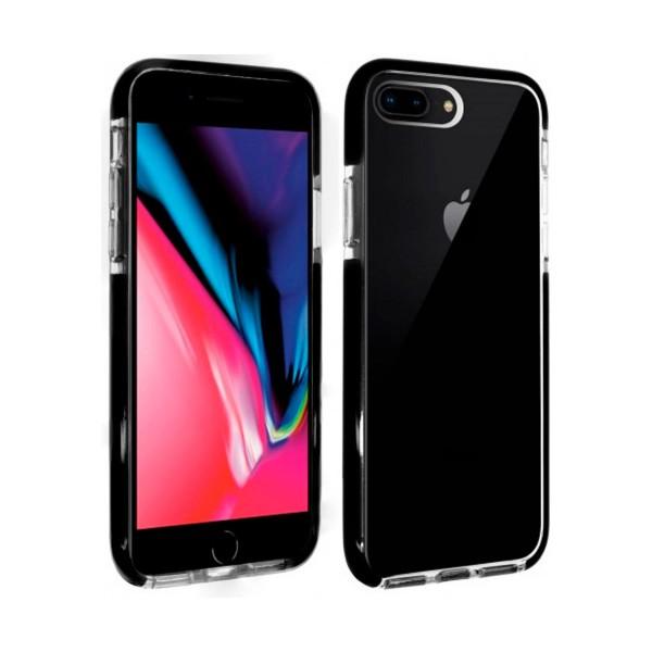Akashi altcip876pstrg transparente carcasa iphone 8 plus / 7 plus