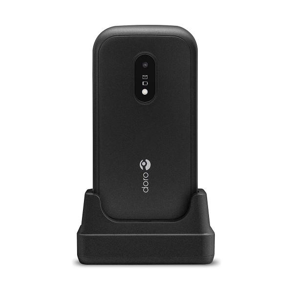 Doro 6040 negro móvil senior con cámara de 2mp con flash led conectividad bluetooth