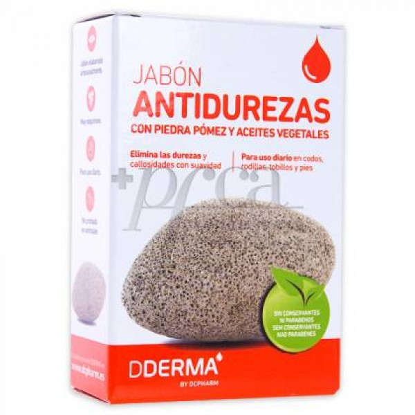 DDERMA JABON ANTIDUREZAS CON PIEDRA POMEZ 125 G