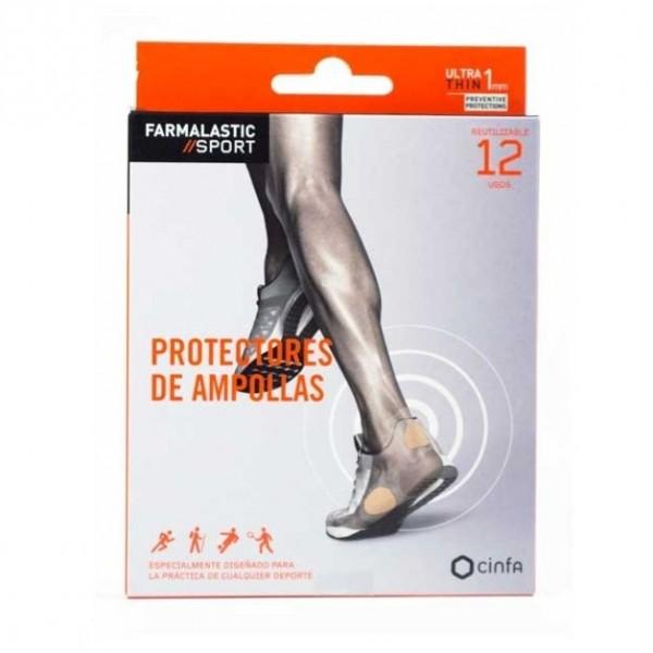 FARMALASTIC SPORT 4 PROTECTORES DE AMPOLLAS