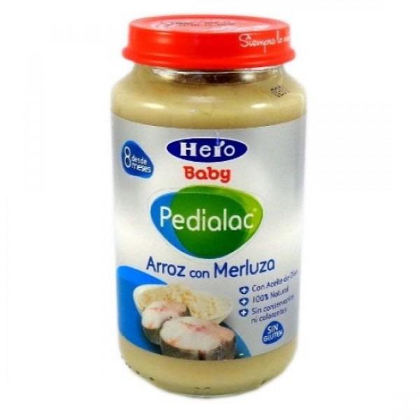 HERO BABY PEDIALAC ARROZ CON MERLUZA 250 G