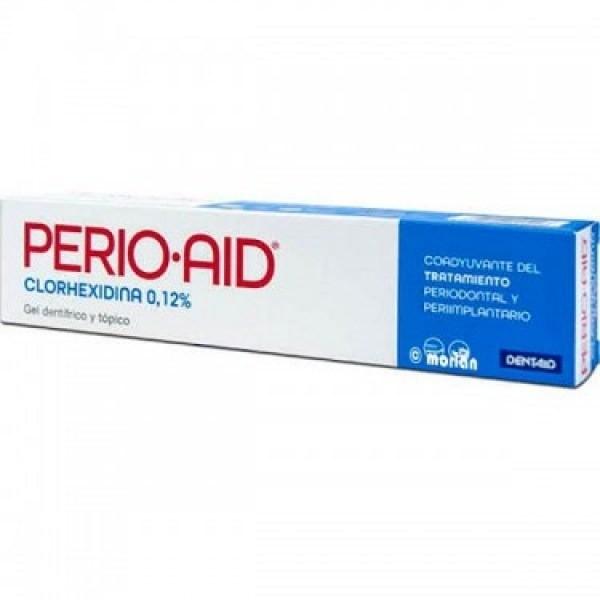 Perio Aid gel dentífrico tópico coadyuvante 75ml.