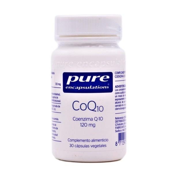 PURE ENCAPSULATIONS COQ10 30 CAPS