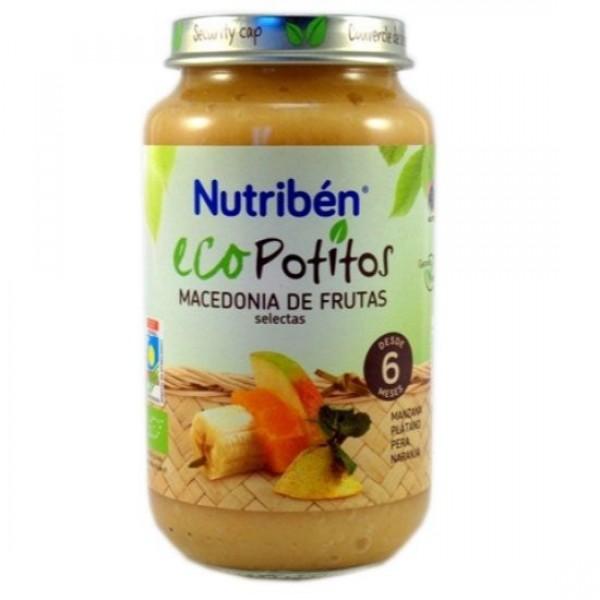 NUTRIBEN ECO MACEDONIA DE FRUTAS SELECTAS 250 G