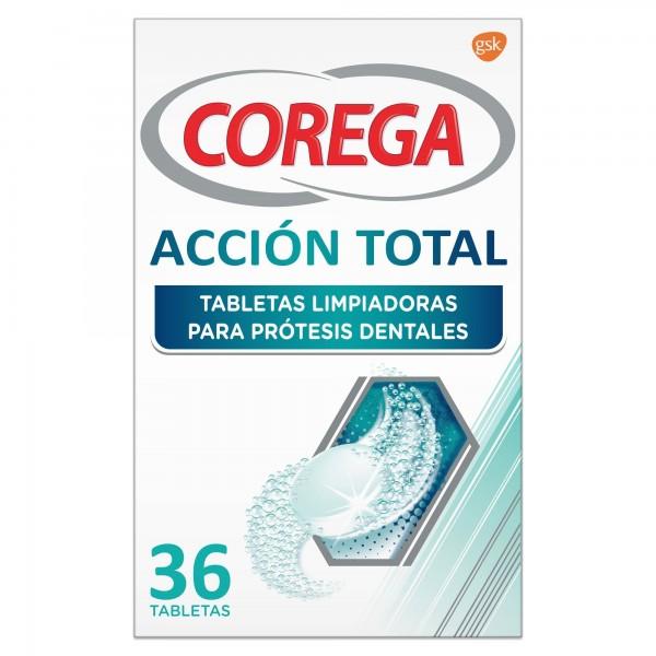 COREGA ACCION TOTAL LIMPIEZA PROTESIS 36 TABS
