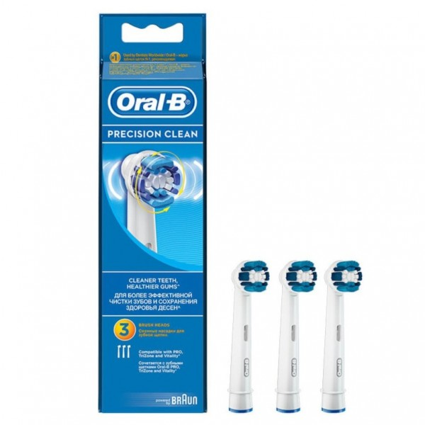 ORAL-B RECAMBIO PRECISION CLEAN 3U