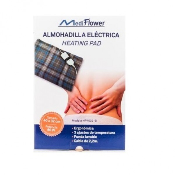 MEDI FLOWER ALMOHADILLA ELECTRICA 60W 40X32 CM